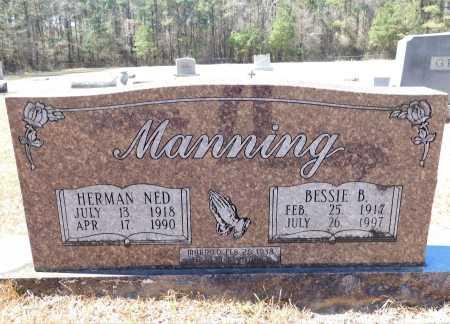MANNING, HERMAN NED - Calhoun County, Arkansas   HERMAN NED MANNING - Arkansas Gravestone Photos