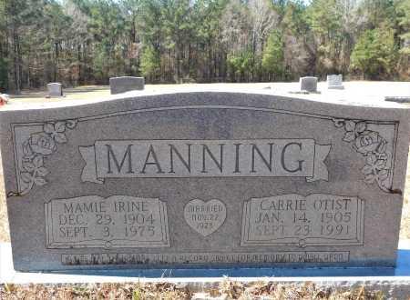 MANNING, CARRIE OTIST - Calhoun County, Arkansas | CARRIE OTIST MANNING - Arkansas Gravestone Photos