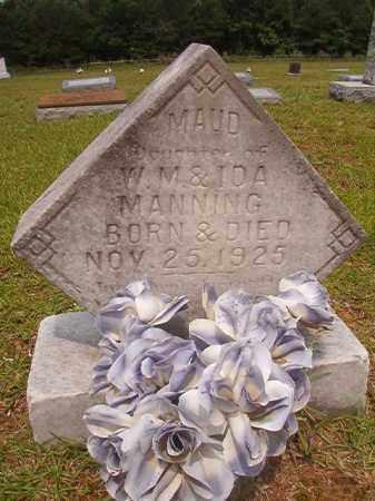 MANNING, MAUD - Calhoun County, Arkansas   MAUD MANNING - Arkansas Gravestone Photos