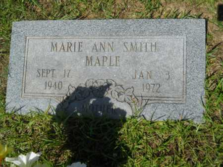 MAPLE, MARIE ANN - Calhoun County, Arkansas | MARIE ANN MAPLE - Arkansas Gravestone Photos