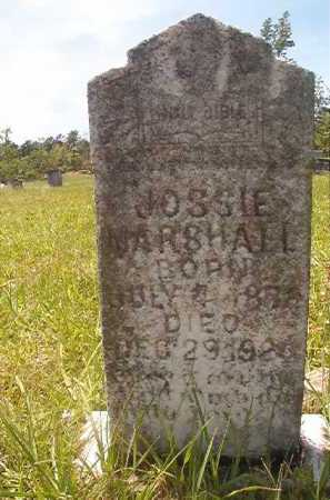 MARSHALL, JOSSIE - Calhoun County, Arkansas | JOSSIE MARSHALL - Arkansas Gravestone Photos