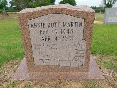 MARTIN, ANNIE RUTH - Calhoun County, Arkansas | ANNIE RUTH MARTIN - Arkansas Gravestone Photos