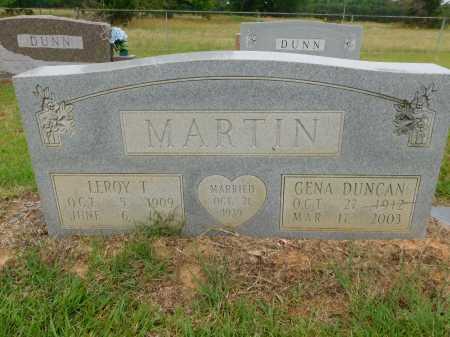MARTIN, LEROY T - Calhoun County, Arkansas | LEROY T MARTIN - Arkansas Gravestone Photos