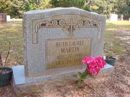 MARTIN, RUTH LAURET - Calhoun County, Arkansas | RUTH LAURET MARTIN - Arkansas Gravestone Photos