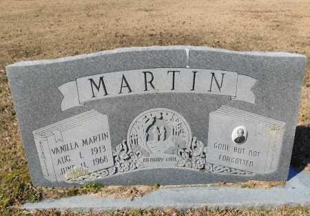 MARTIN, VANILLA - Calhoun County, Arkansas | VANILLA MARTIN - Arkansas Gravestone Photos