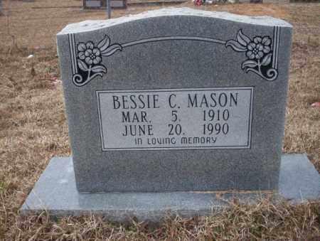 MASON, BESSIE C - Calhoun County, Arkansas | BESSIE C MASON - Arkansas Gravestone Photos