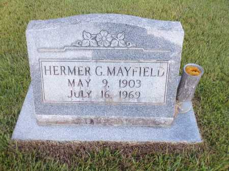 MAYFIELD, HERMER G - Calhoun County, Arkansas | HERMER G MAYFIELD - Arkansas Gravestone Photos