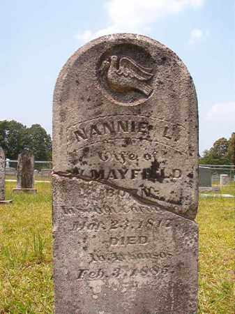 MAYFIELD, NANNIE L - Calhoun County, Arkansas | NANNIE L MAYFIELD - Arkansas Gravestone Photos
