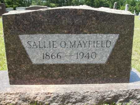 MAYFIELD, SALLIE O - Calhoun County, Arkansas | SALLIE O MAYFIELD - Arkansas Gravestone Photos