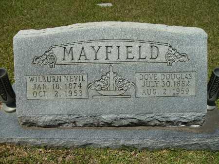 MAYFIELD, WILBURN NEVIL - Calhoun County, Arkansas | WILBURN NEVIL MAYFIELD - Arkansas Gravestone Photos