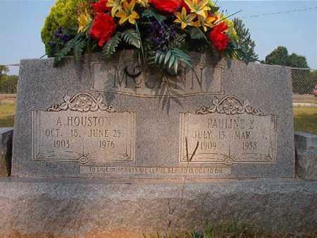 MCCANN, PAULINE E - Calhoun County, Arkansas   PAULINE E MCCANN - Arkansas Gravestone Photos
