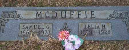 MCDUFFIE, LELIA H - Calhoun County, Arkansas | LELIA H MCDUFFIE - Arkansas Gravestone Photos