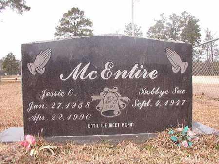 MCENTIRE, JESSIE O - Calhoun County, Arkansas | JESSIE O MCENTIRE - Arkansas Gravestone Photos