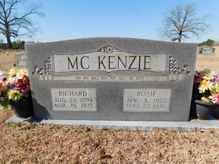 MCKENZIE, RICHARD - Calhoun County, Arkansas | RICHARD MCKENZIE - Arkansas Gravestone Photos