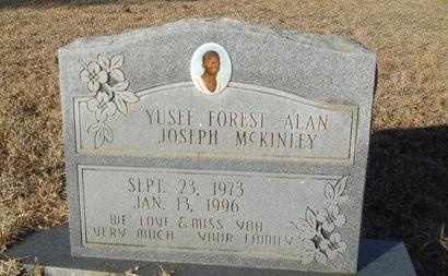 MCKINLEY, YUSEF FOREST ALAN - Calhoun County, Arkansas | YUSEF FOREST ALAN MCKINLEY - Arkansas Gravestone Photos