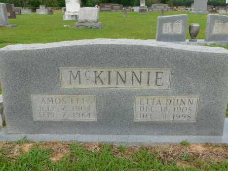 MCKINNIE, AMOS LEE - Calhoun County, Arkansas | AMOS LEE MCKINNIE - Arkansas Gravestone Photos