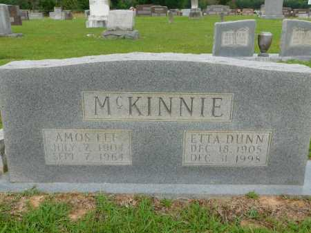 DUNN MCKINNIE, ETTA - Calhoun County, Arkansas | ETTA DUNN MCKINNIE - Arkansas Gravestone Photos