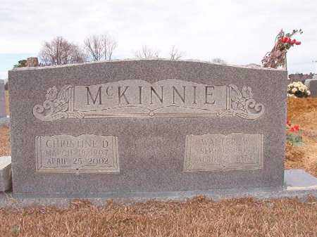 MCKINNIE, CHRISTINE D - Calhoun County, Arkansas | CHRISTINE D MCKINNIE - Arkansas Gravestone Photos
