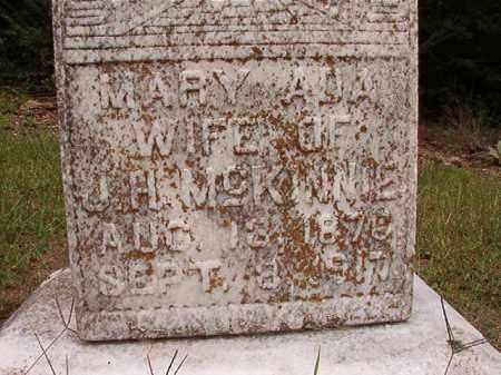 MCKINNIE, MARY ADA - Calhoun County, Arkansas | MARY ADA MCKINNIE - Arkansas Gravestone Photos