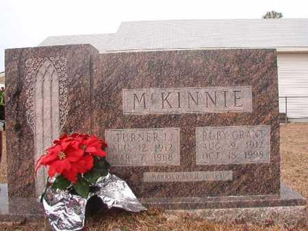 GRANT MCKINNIE, RUBY - Calhoun County, Arkansas | RUBY GRANT MCKINNIE - Arkansas Gravestone Photos