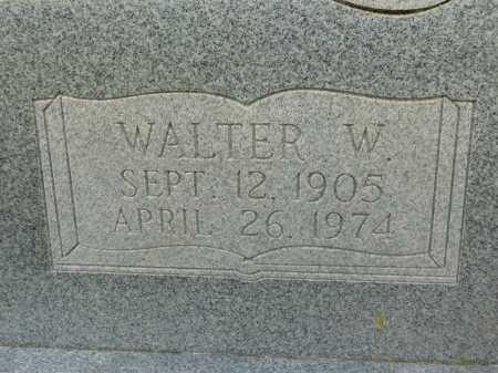 MCKINNIE, WALTER W - Calhoun County, Arkansas | WALTER W MCKINNIE - Arkansas Gravestone Photos