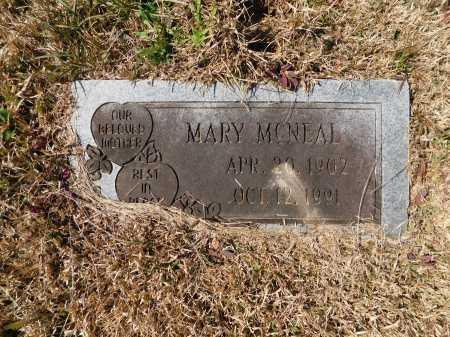 MCNEAL, MARY - Calhoun County, Arkansas   MARY MCNEAL - Arkansas Gravestone Photos
