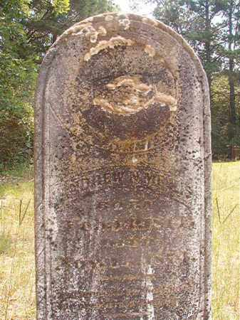 MEANS, ANDREW N - Calhoun County, Arkansas | ANDREW N MEANS - Arkansas Gravestone Photos