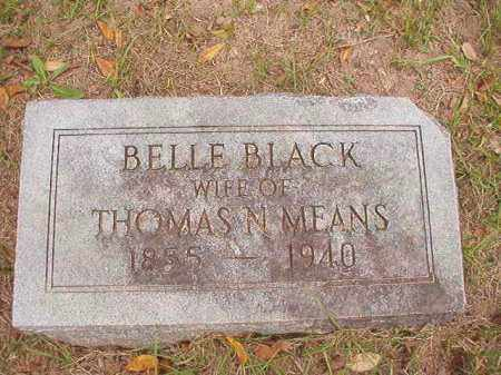 MEANS, BELLE - Calhoun County, Arkansas | BELLE MEANS - Arkansas Gravestone Photos