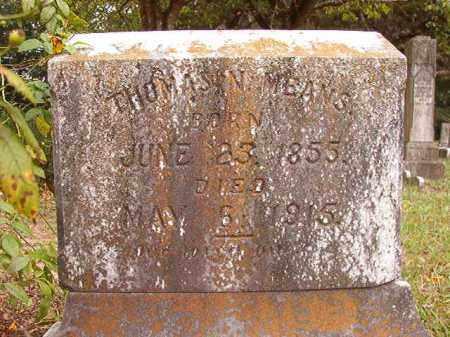 MEANS, THOMAS NEWTON - Calhoun County, Arkansas | THOMAS NEWTON MEANS - Arkansas Gravestone Photos