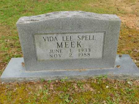 SPELL MEEK, VIDA LEE - Calhoun County, Arkansas | VIDA LEE SPELL MEEK - Arkansas Gravestone Photos