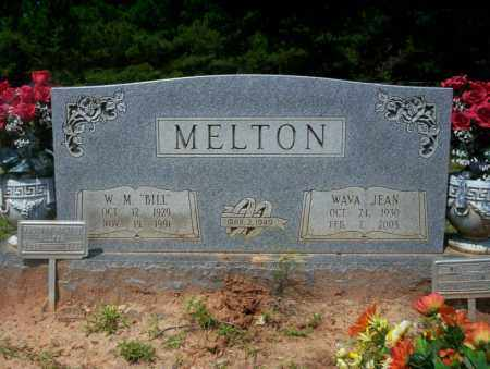 MELTON, WAVA JEAN - Calhoun County, Arkansas | WAVA JEAN MELTON - Arkansas Gravestone Photos