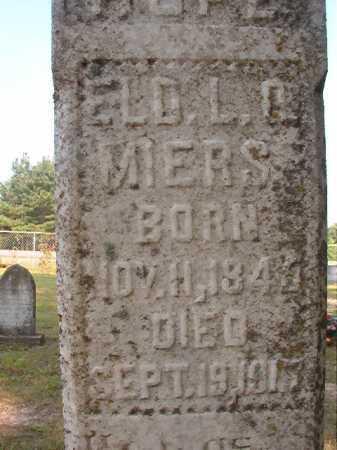 MIERS, L O - Calhoun County, Arkansas   L O MIERS - Arkansas Gravestone Photos