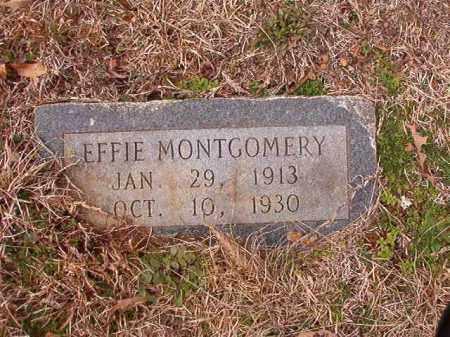 MONTGOMERY, EFFIE - Calhoun County, Arkansas   EFFIE MONTGOMERY - Arkansas Gravestone Photos