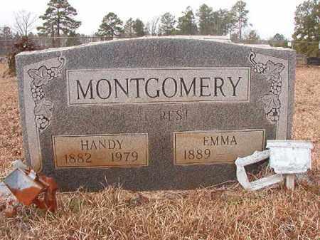MONTGOMERY, EMMA - Calhoun County, Arkansas   EMMA MONTGOMERY - Arkansas Gravestone Photos