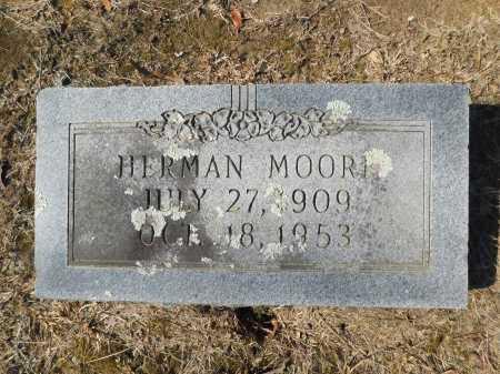MOORE, HERMAN - Calhoun County, Arkansas | HERMAN MOORE - Arkansas Gravestone Photos