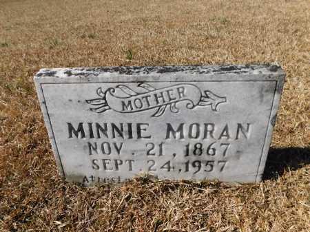 MORAN, MINNIE - Calhoun County, Arkansas   MINNIE MORAN - Arkansas Gravestone Photos