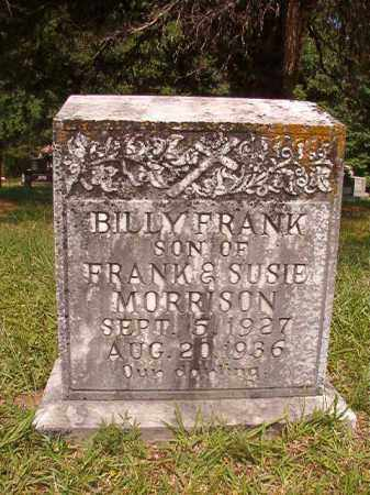 MORRISON, BILLY FRANK - Calhoun County, Arkansas | BILLY FRANK MORRISON - Arkansas Gravestone Photos