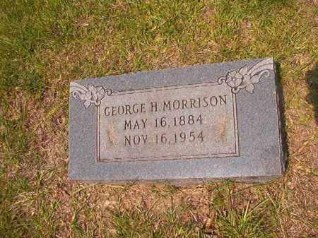 MORRISON, GEORGE H - Calhoun County, Arkansas   GEORGE H MORRISON - Arkansas Gravestone Photos