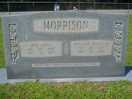 MORRISON, WILLIAM FRANKLIN - Calhoun County, Arkansas | WILLIAM FRANKLIN MORRISON - Arkansas Gravestone Photos