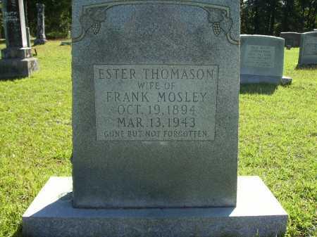 MOSLEY, ESTER - Calhoun County, Arkansas | ESTER MOSLEY - Arkansas Gravestone Photos