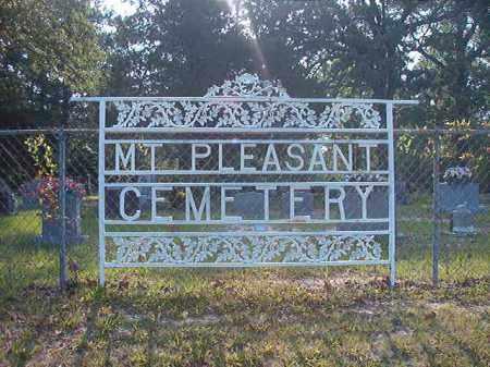 *MT. PLEASANT, CEMETERY - Calhoun County, Arkansas | CEMETERY *MT. PLEASANT - Arkansas Gravestone Photos