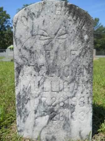 MULLIGAN, INFANT - Calhoun County, Arkansas   INFANT MULLIGAN - Arkansas Gravestone Photos