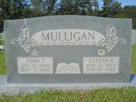 MULLIGAN, LUCIAN P - Calhoun County, Arkansas   LUCIAN P MULLIGAN - Arkansas Gravestone Photos