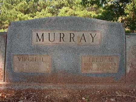 MURRAY, FRED M - Calhoun County, Arkansas | FRED M MURRAY - Arkansas Gravestone Photos