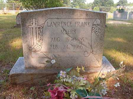 MYERS, LAWRENCE FRANK - Calhoun County, Arkansas | LAWRENCE FRANK MYERS - Arkansas Gravestone Photos