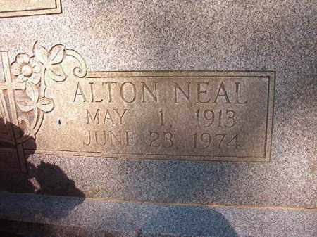 NEAL, ALTON - Calhoun County, Arkansas | ALTON NEAL - Arkansas Gravestone Photos