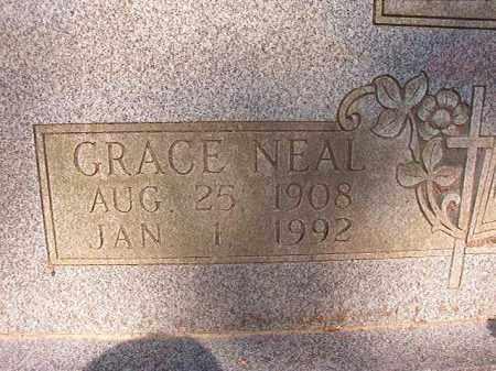 NEAL, GRACE - Calhoun County, Arkansas   GRACE NEAL - Arkansas Gravestone Photos