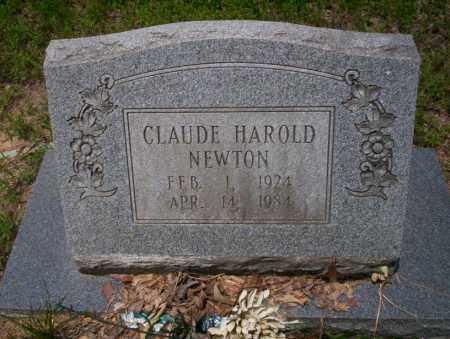 NEWTON, CLAUDE HAROLD - Calhoun County, Arkansas | CLAUDE HAROLD NEWTON - Arkansas Gravestone Photos