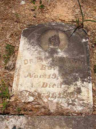 NEWTON, DR, EMERY G - Calhoun County, Arkansas | EMERY G NEWTON, DR - Arkansas Gravestone Photos