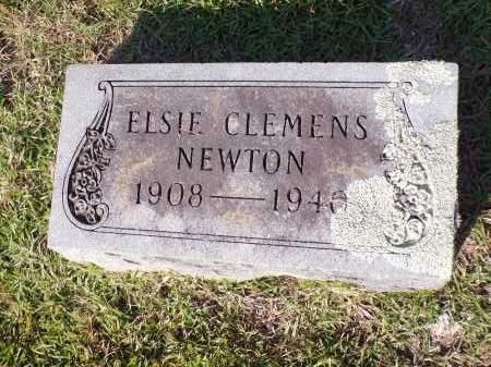 CLEMENS NEWTON, ELSIE - Calhoun County, Arkansas | ELSIE CLEMENS NEWTON - Arkansas Gravestone Photos